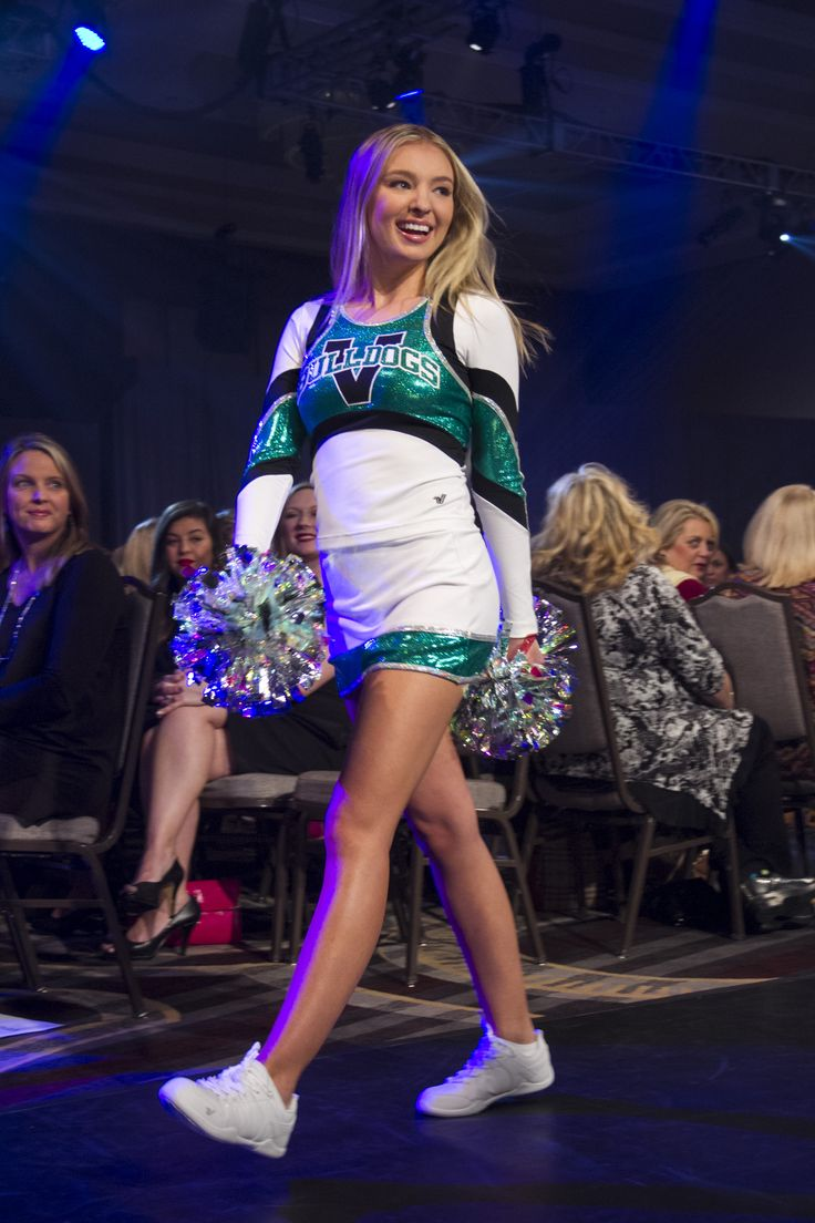 2016 Varsity Spirit Fashion Show - Metallic Cheer Uniform