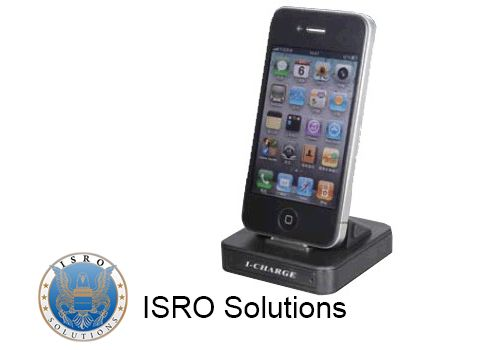 iPad/iPhone Docking Station with Hidden Camera ISR-D85  The motion detection makes it perfect for undercover surveillance. The camera is hidden in the frontal side and the microphone is on the charging adapter. This device supports an SD card with memory up to 32GB and the power supply is directly from the DVR adapter.