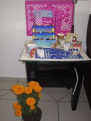 Coffee Break: DIA DE MUERTOS: Altar Miniatura / Day of the Death: Mini Altar