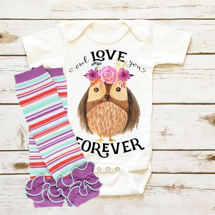 Owl Love You Forever| Infant Girl