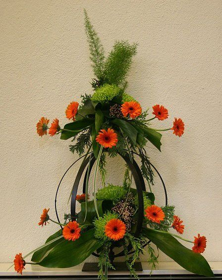 Floral art created by one of our learners.