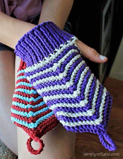 Free Knit Pattern Washing Cloth