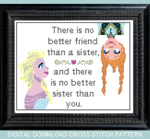 I Love You More Than Quotes: 17 Best Ideas About Frozen Cross Stitch On Pinterest