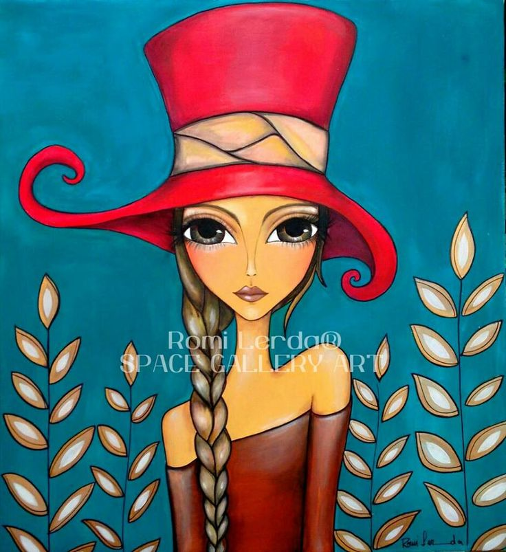 """Lady in Hat"" by Romi Lerda"
