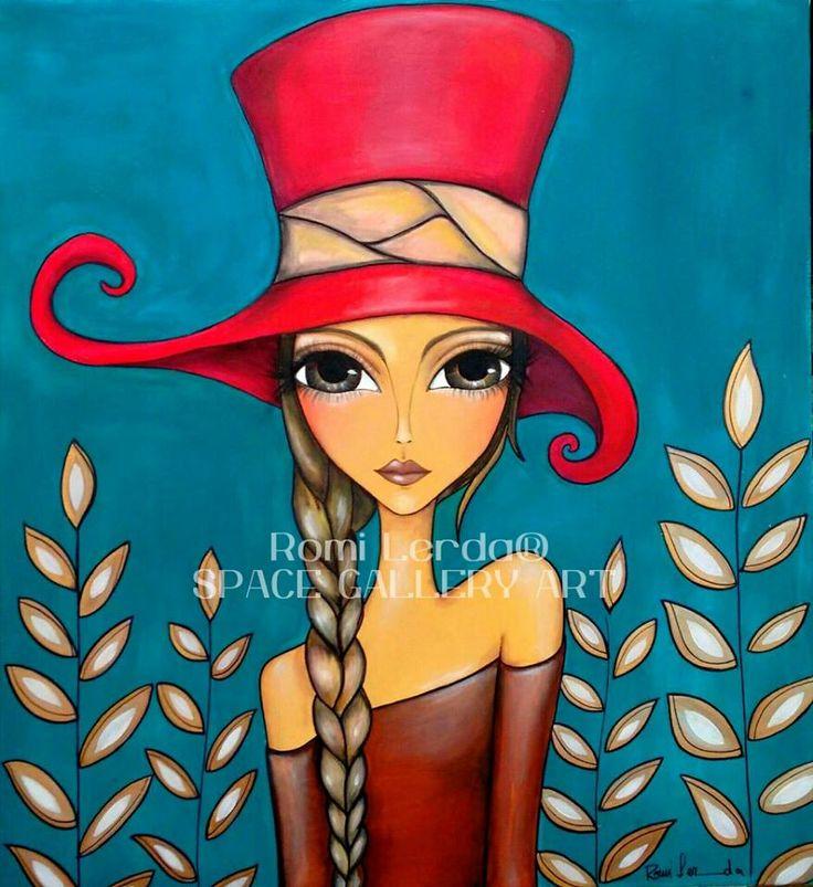"""Lady in Hat"" by Romi Lerda"