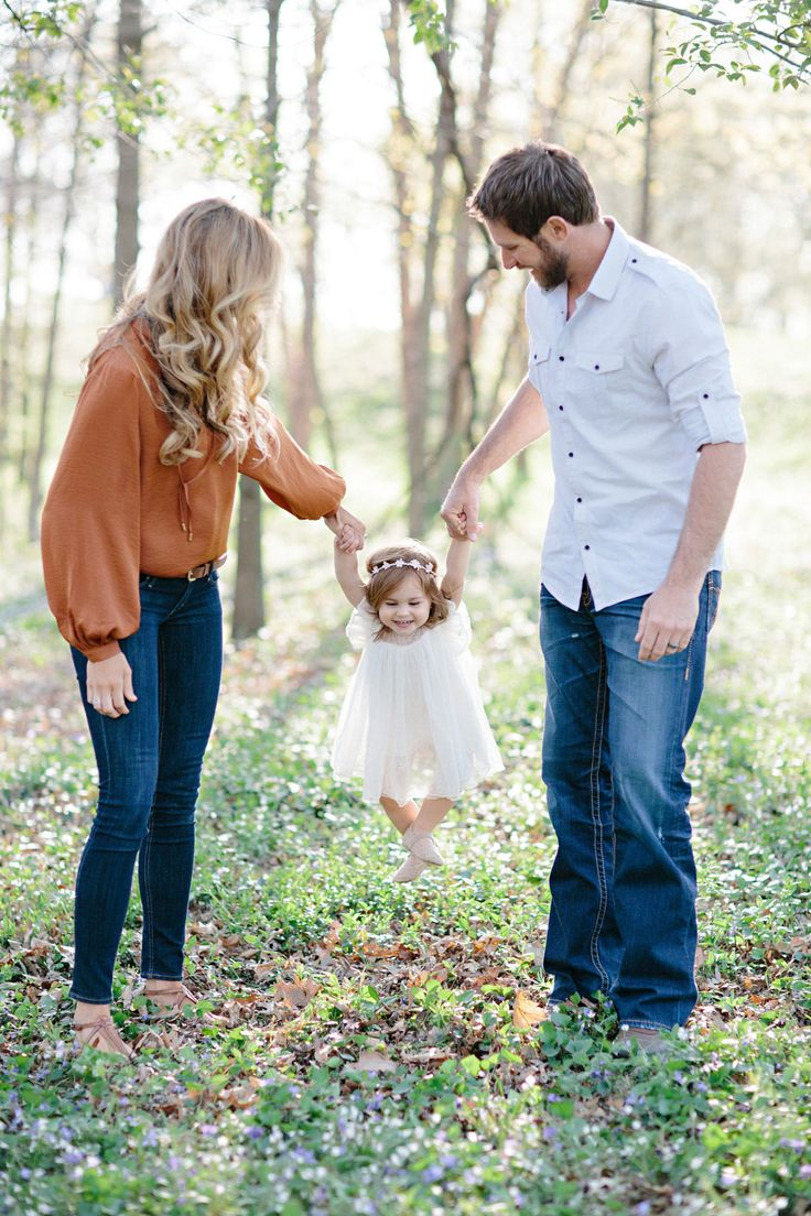 Adorable Family Portraits in the Park