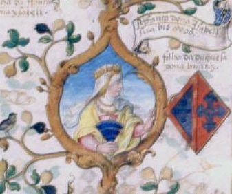 D. Isabel de Bragança, ou Barcelos, ou Isabel de Bragança e Pereira - (1402-1465)- Casou c/ s/ meio-tio Inf.D. João, Condestável de Portugal. Tiveram 4 filhos: Diogo (1425-1443); Isabel (1428-1496)- casou com João II de Castela e mãe de Isabel I, A Católica; Beatriz (1430-1506)- casou com seu primo o Inf. Fernando e mãe de D. Manuel I; Filipa (1432-1450)-casou com ..., (cont.2)