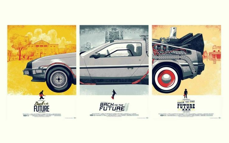 Cars movies Back to the Future DeLorean 3 Sizes Silk Fabric Canvas Poster Print-in Painting & Calligraphy from Home & Garden on Aliexpress.com | Alibaba Group