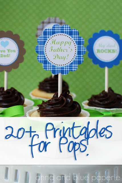 20+ Free Fathers Day Printables | How Does She...