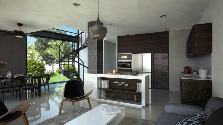 Cocina Casa - EVA3D