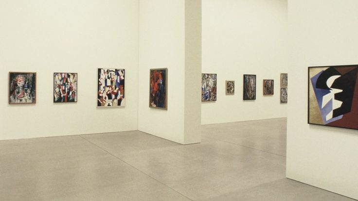 Installation view: Amazons of the Avant-Garde, Deutsche Guggenheim, Berlin