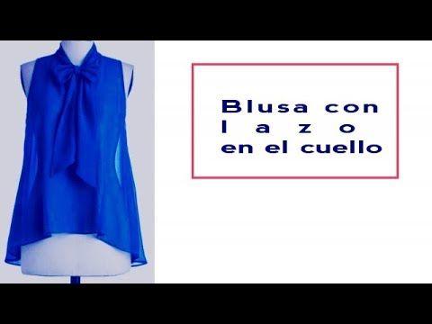 4facb7fa6a TUTORIAL  Cómo confeccionar un Suéter con Escote Barco (con patrones) -  YouTube