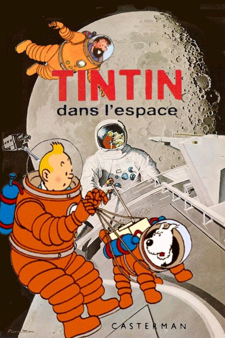 Tintin dans l'espace