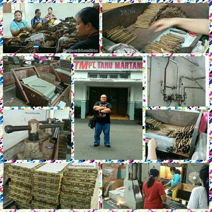 Visiting Legendary Cigar Factory ....  #PDTaruMartani #pabrikcerutu #cigarfactory #sedjak1918 #yogyakarta #amazingindonesia #travelingfoodie