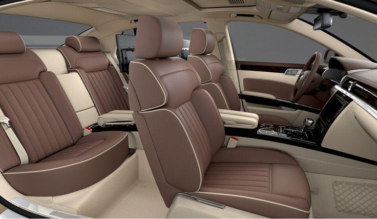 #5 Volkswagen Phaeton 4.2 V8  - Exterior in Gentle Gold with Interior in Nougat/Corn Silk Beige