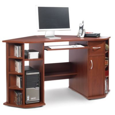 bureau d 39 angle pour ordinateur sears sears canada rangement pinterest bureau angle. Black Bedroom Furniture Sets. Home Design Ideas