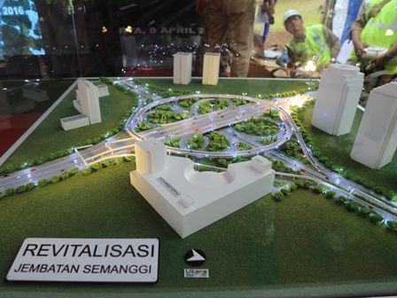 Semanggi Elevated Road to Finish in August 2017