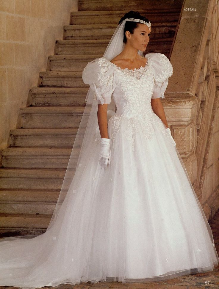 365 best 1980s wedding dress images on Pinterest  Retro