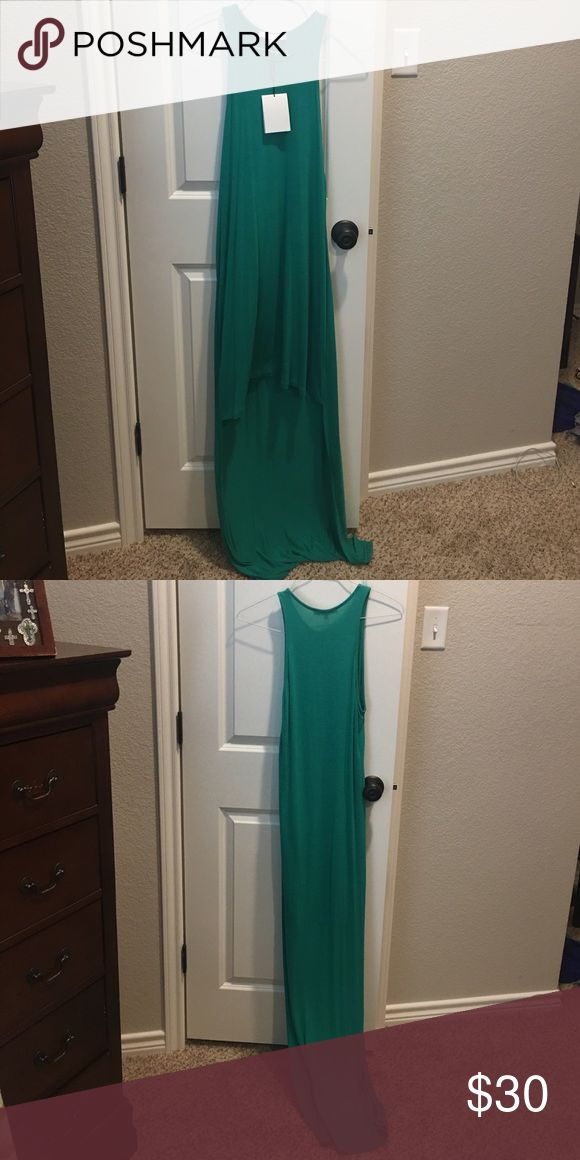 Alexis Sleeveless Dress Hi Lo Kelly Green So beautiful!! alexis Dresses High Low
