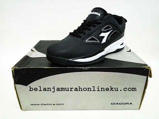 Sepatu Basket Diadora Hops warna : Black | Belanja murah online