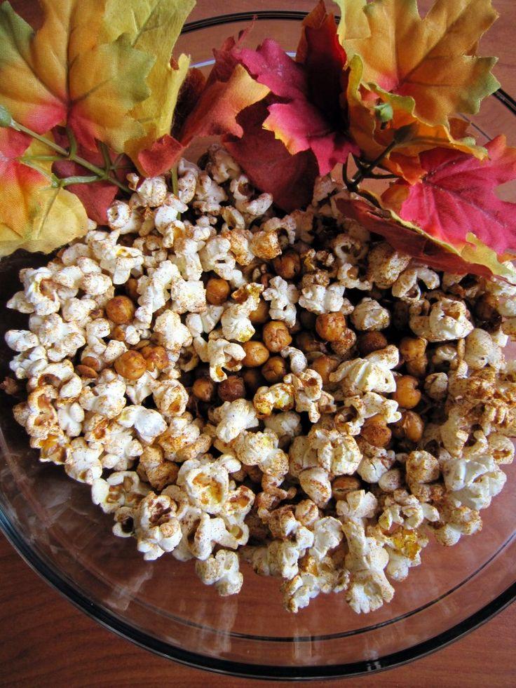 Popcorn & Protein Snack Mix   Britt's Blurbs
