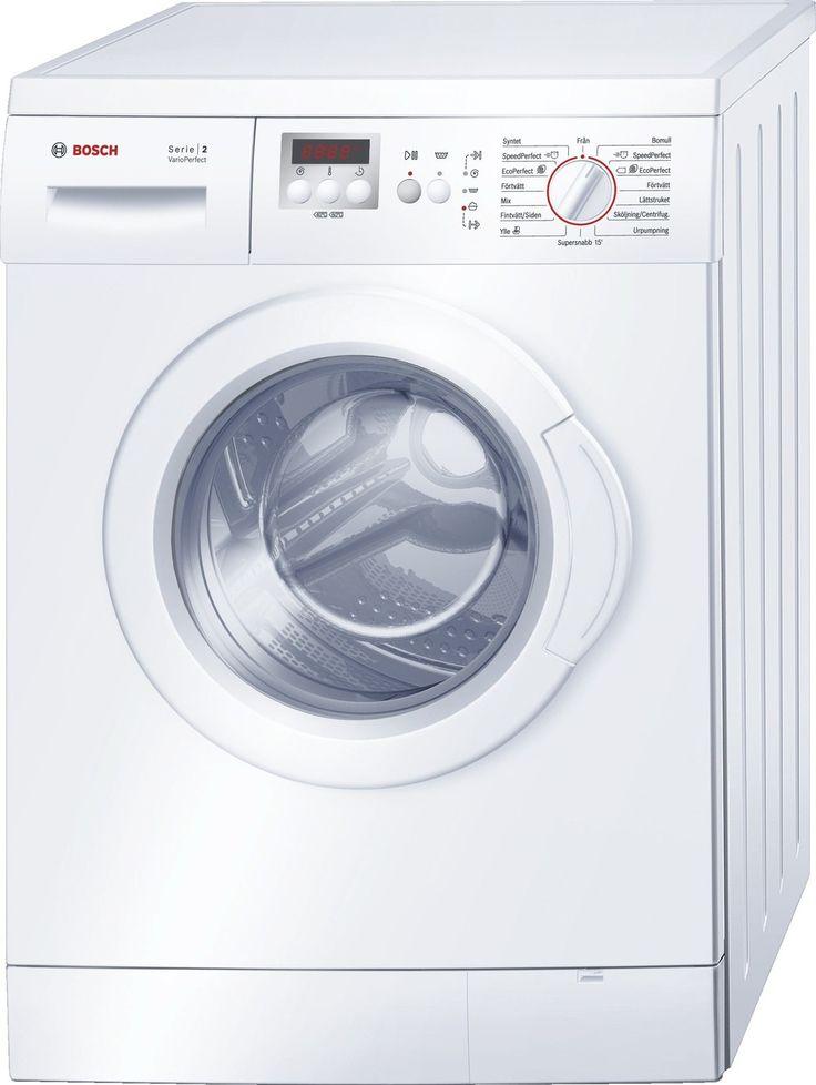 Bosch WAE28267SN frontbetjent vaskemaskine - Billig pris, fri fragt
