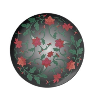 chinese floral dinner plate  sc 1 st  Pinterest & 34 best Unique Dinner Plates images on Pinterest | Dishes ...