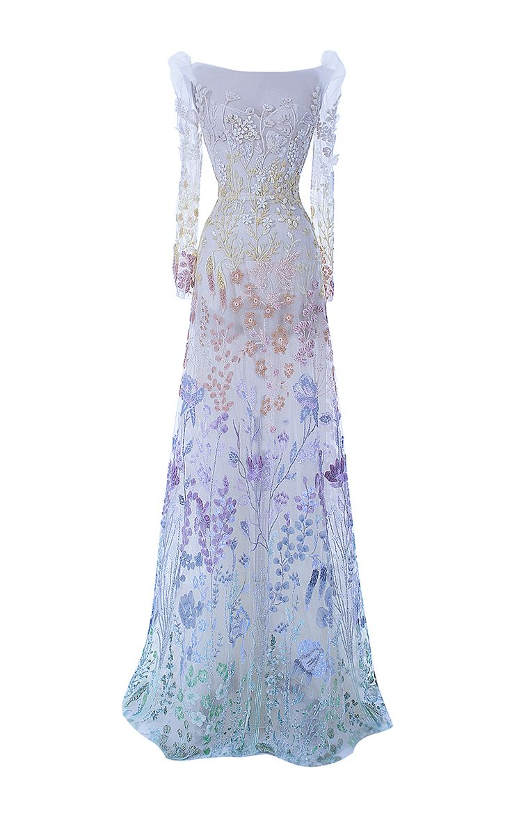 The Enchantress Gown by HAMDA AL FAHIM for Preorder on Moda Operandi