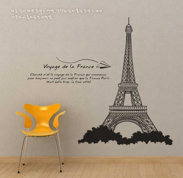 A Paris Apartment And A Paris Graphic: 16 Best Images About Wall Ideas On Pinterest