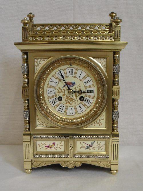 Antiques Atlas - Brass Mantel Clock