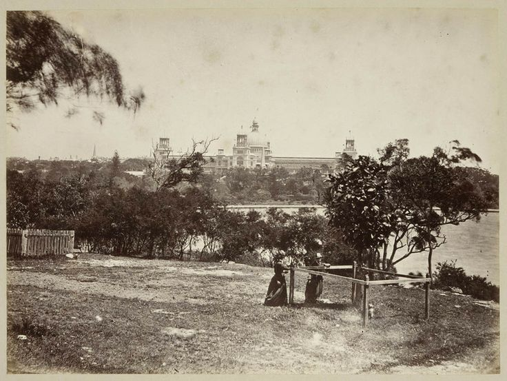View from Mrs Macquarie's Point, by Tronier Artist Photographer, 1879-1884. PXA 411 / 10. http://acmssearch.sl.nsw.gov.au/search/itemDetailPaged.cgi?itemID=431113