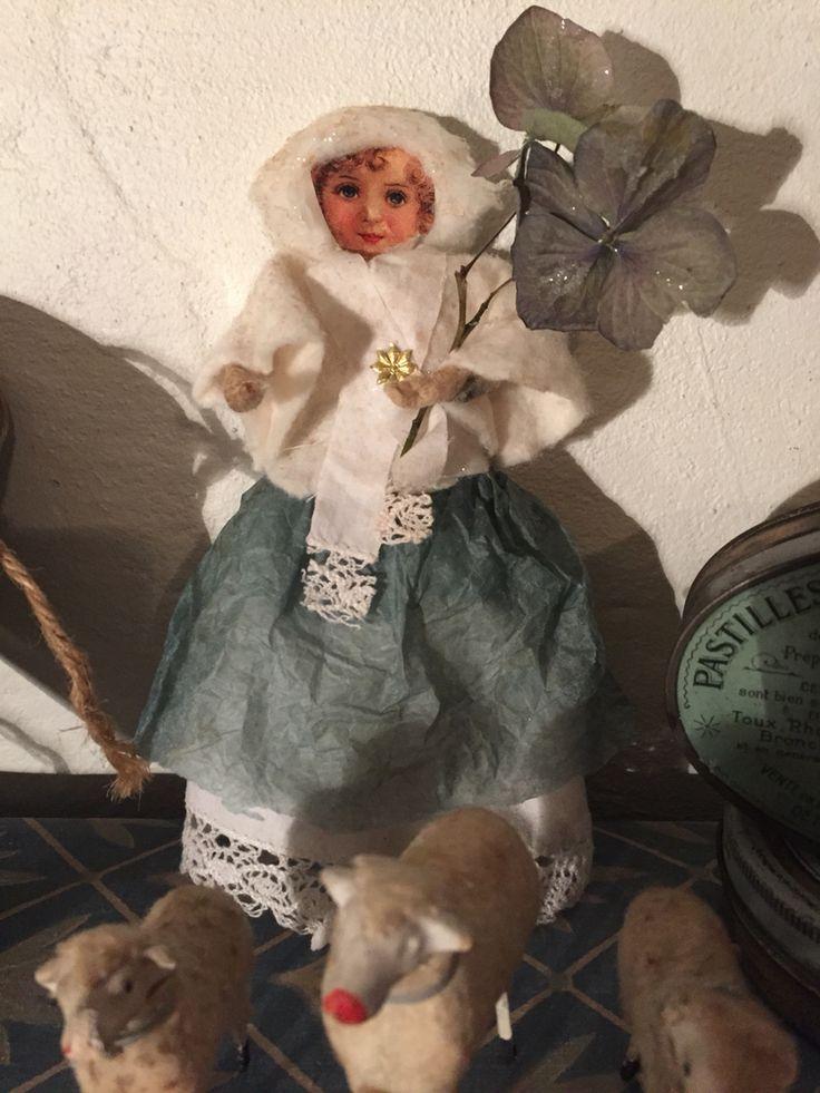 Winter Girl cotton