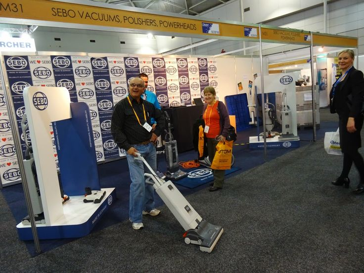 Happy SEBO user CleanScene Brisbane