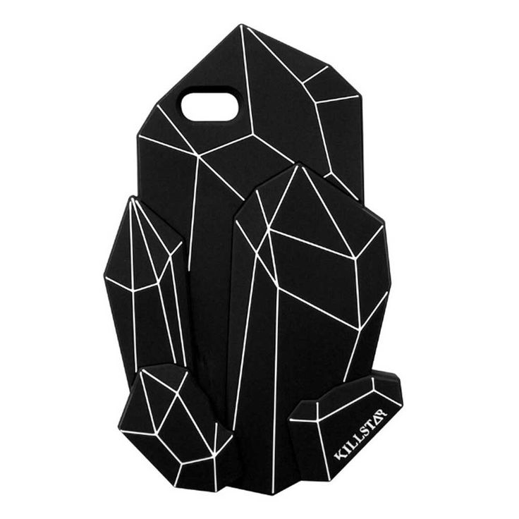 Killstar Crystalline iPhone telefoonhoes zwart - Rock Metal Gothic - i
