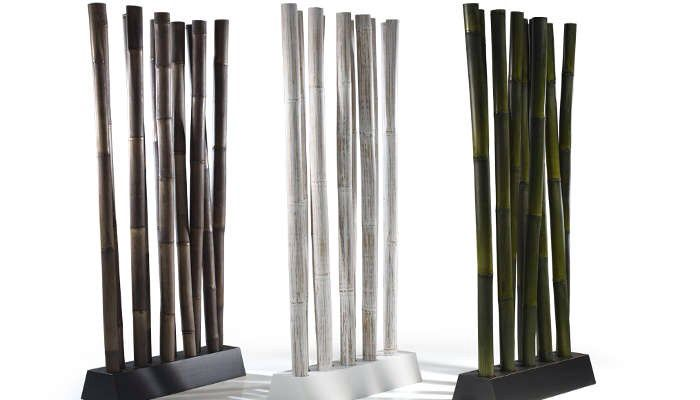 7 best raumteiler aus bambus rattan teak holz images on. Black Bedroom Furniture Sets. Home Design Ideas