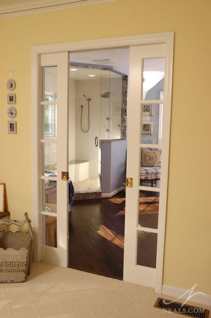 1000 images about pocket doors on pinterest pocket for Master bathroom pocket door