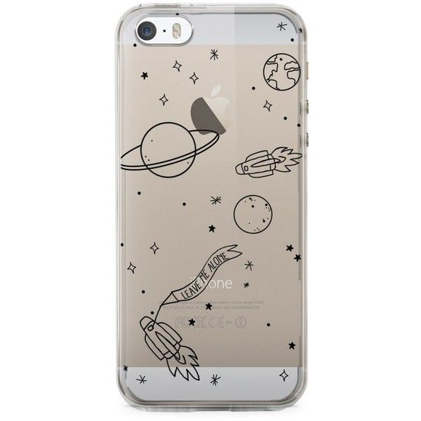 iPhone Case Space (€25) ❤ liked on Polyvore featuring accessories, tech accessories, iphone sleeve case, iphone cases, silicone iphone case, apple iphone case and transparent iphone case