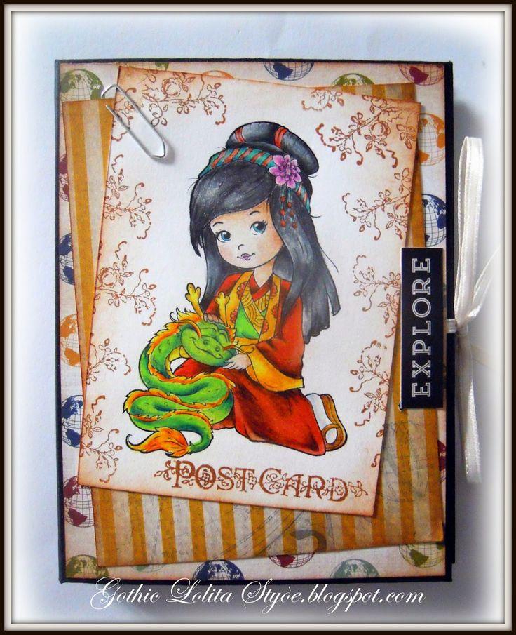 Gothic Lolita Style: Agenda di viaggio - Travel Planner - My Fantasy Pe...