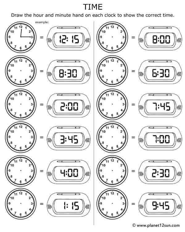 Time Worksheets For Kids Telling Time Free Printable Worksheet Time Worksheets Telling Time Worksheets 3rd Grade Math Worksheets