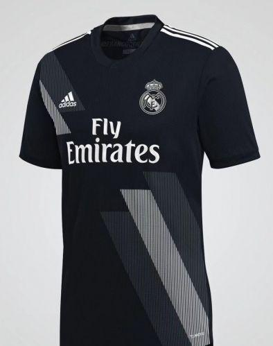2018-19 Real Madrid Away Black Thailand Jersey AAA  4cda86498