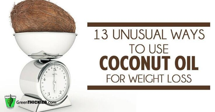 Coconut oil is such a fantastically healthy oil, here are 13 ways you may not have known this versatile oil can help you lose weight.