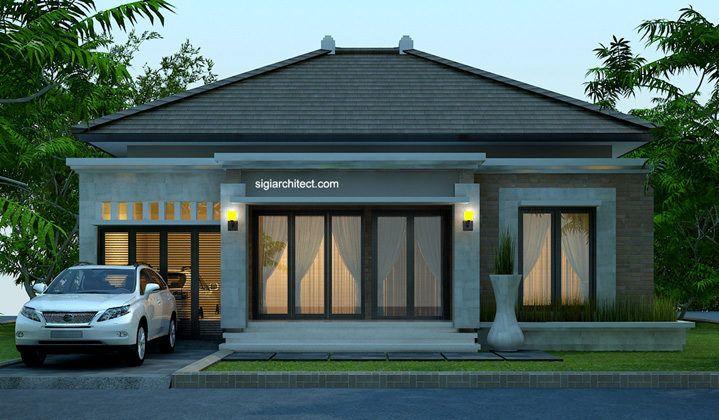 Desain Rumah Bali Modern | Model rumah 4 Tampak