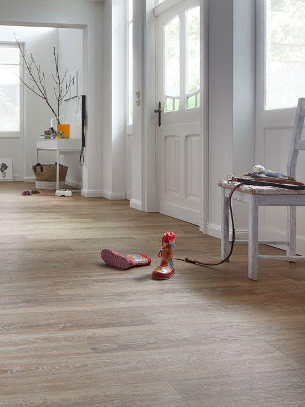 Vinylboden im Flur & Eingangsbereich. Tolles Design  | robust | pflegeleicht