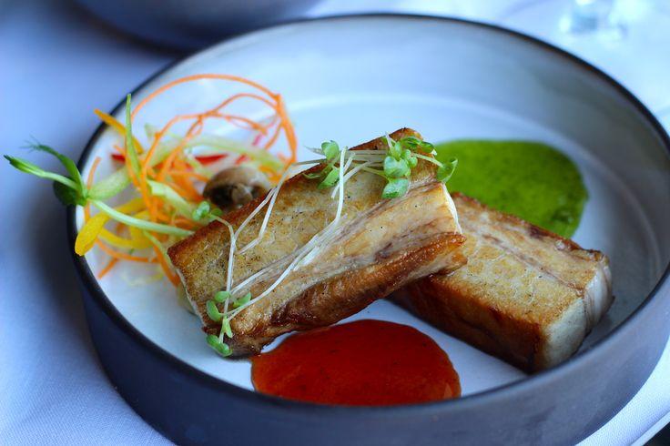 Pancita De Puerco - Pork Belly with Chipotle & Jalapeno Sauce - R85 @DELMARbukhara