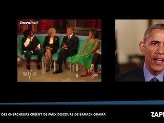 Des chercheurs créent de faux discours de Barack Obama, les images bluffantes (vidéo)