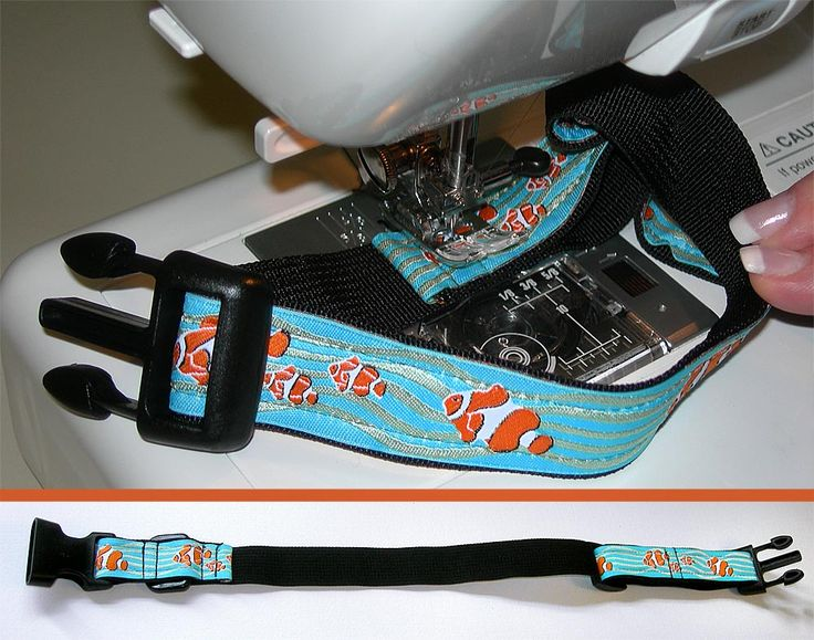 how to make a dog collar (sewing required)