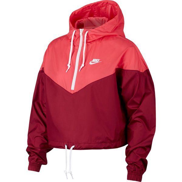 Nike NSW HRTG Windbreaker Damen team red ember glow white im