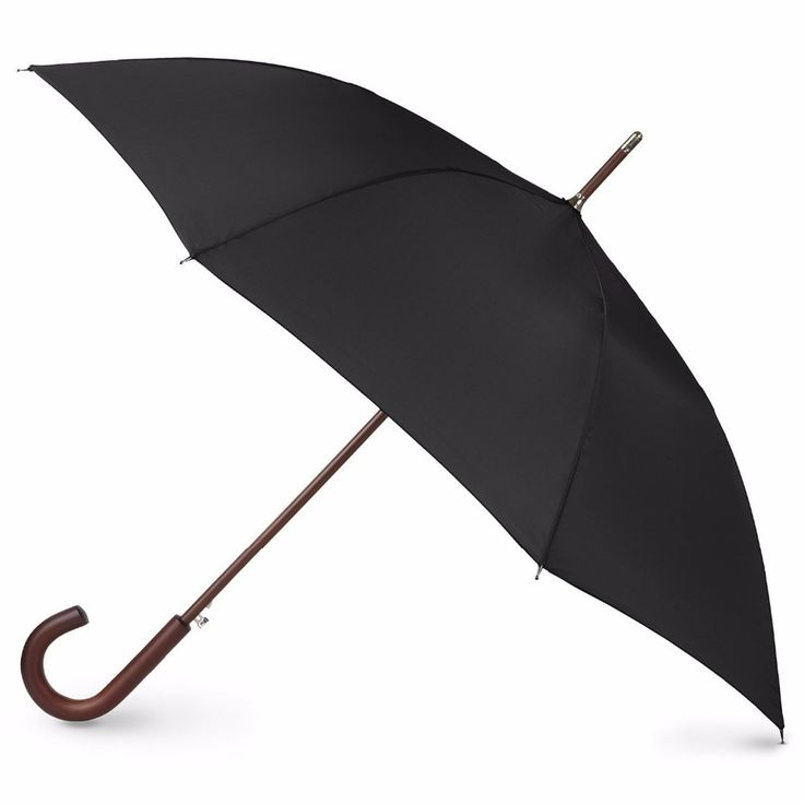 Auto Open Wooden Stick Umbrella