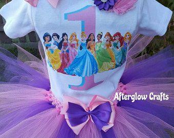 Handmade Disney princess Frozen inspired Tutu set princess