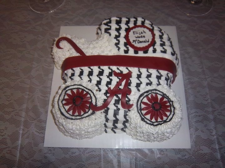 Alabama Baby Shower Cake